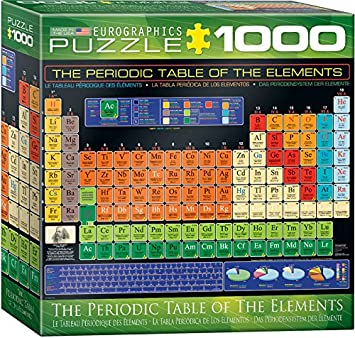 Amazon eurographics small box periodic table of elements puzzle amazon eurographics small box periodic table of elements puzzle 1000 piece toys games urtaz Choice Image