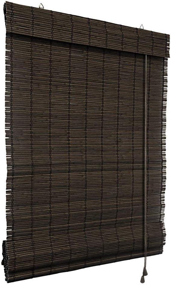 Victoria M. Persiana Enrollable de bambú - fijación sin taladrar ...