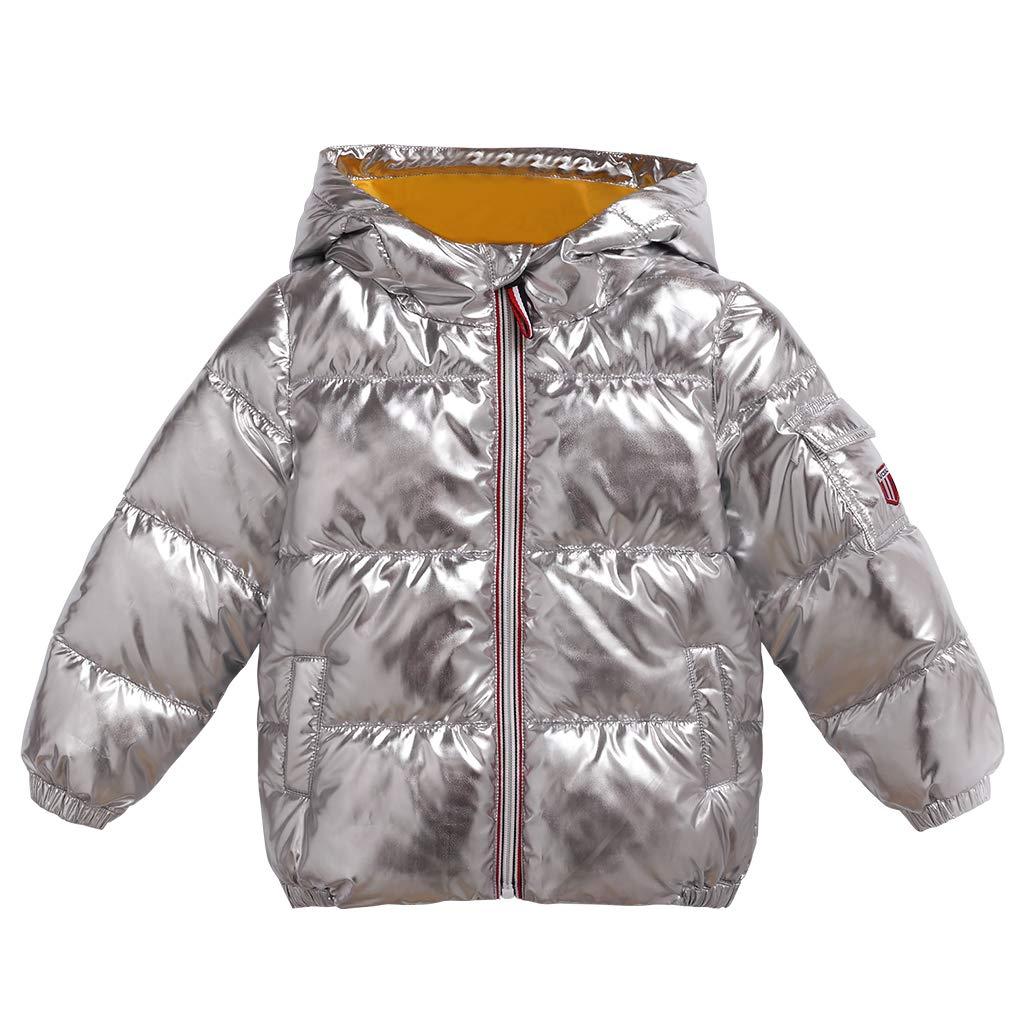 Bébé Blouson à Capuche Bébé Doudoune Matelassée Veste à Manches Longues Ski Vêtement 1-2 Années ShenzhenWindyTradingCo. Ltd
