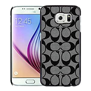Coach 60 Black Fashionable Design Samsung Galaxy S6 G9200 Plastic Case