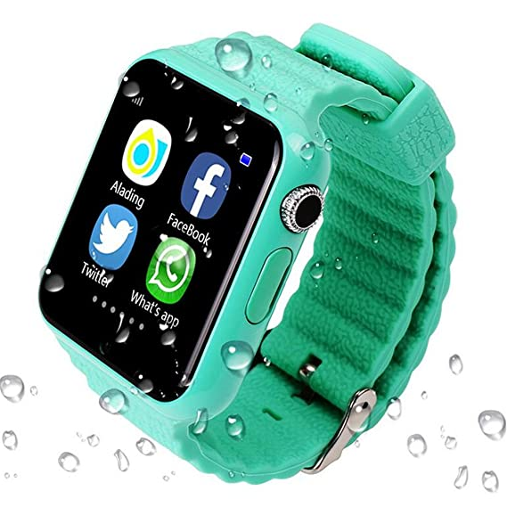 YIMOHWANG V7K Smart Watch for Kids Children GPS Tracker Smartwatch V7K With Camera Facebook Kids SOS Emergency Security Anti Lost For IOS Android ...