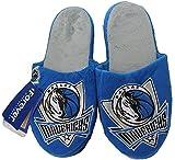 NBA Dallas Mavericks Men's Team Logo Slippers Blue (XL 13-14)