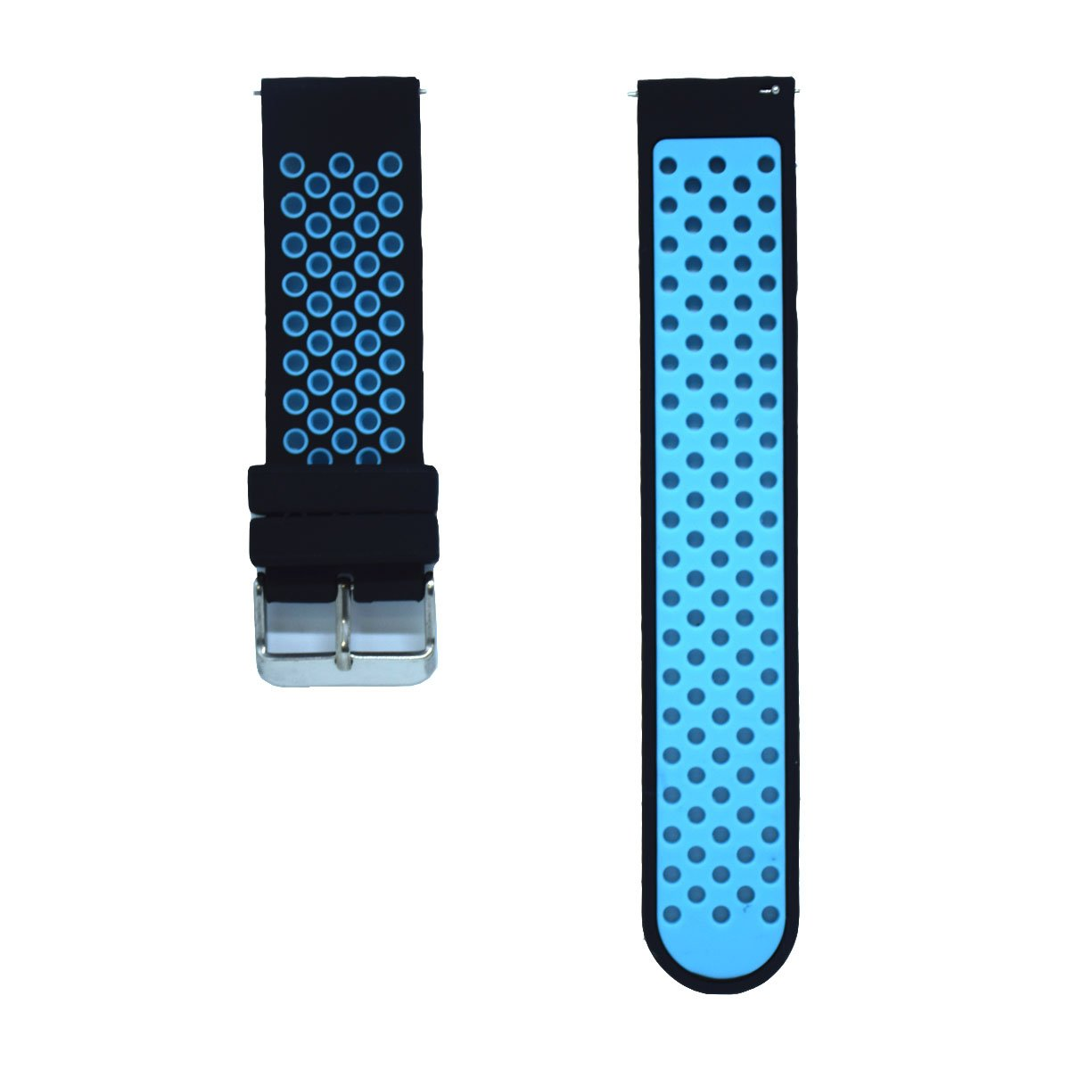 DDJOY 24mm Quick Release Breathable Watch Band Compatible with Suunto Traverse Alpha/Michael Kors Access Grayson/Sony Smartwatch 2 SW2 /Diesel On ...