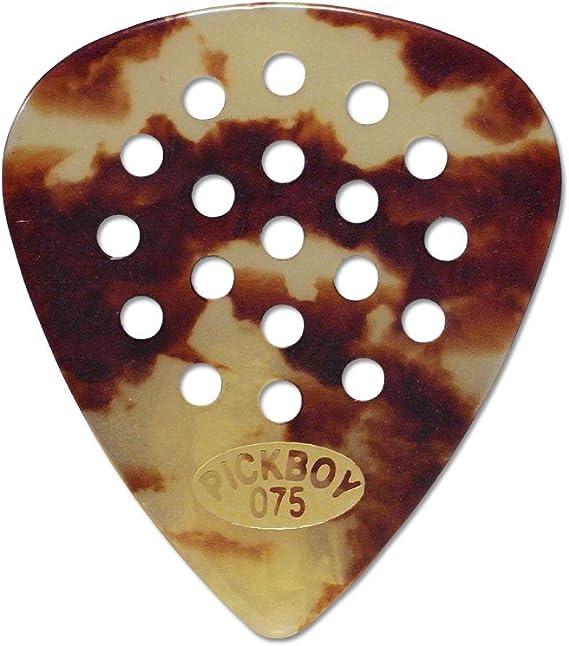 6 x PICKBOY JAZZ Pos a grip Black Guitar Picks Pick 1.50mm