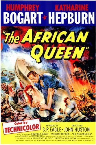Amazon.com: The African Queen: Posters & Prints