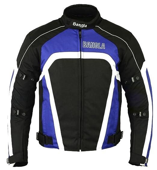 Sommer Kurze Motorradjacke, Biker Jacke Schwar Herren Motorrad Textil Jacke