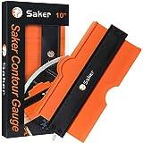 Saker Contour Gauge (10 Inch Lock) Profile Tool- Adjustable Lock-Precisely Copy Irregular Shape Duplicator -Irregular…