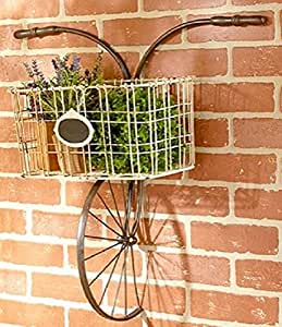 Bicycle design metal wire wall basket indoor for 70 bike decoration