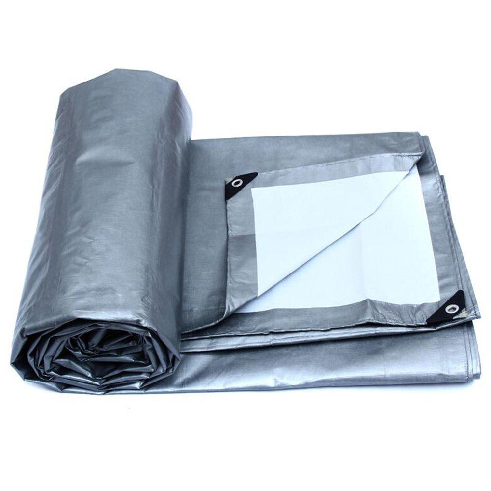 YNN 防水日除け車防塵農業工業用アプリケーション高温、白色、厚さ0.32MM 175g/m²、8サイズ 防水シート (色 : Gray, サイズ さいず : 8 * 6) B07FNV61N4 8*6|Gray Gray 8*6