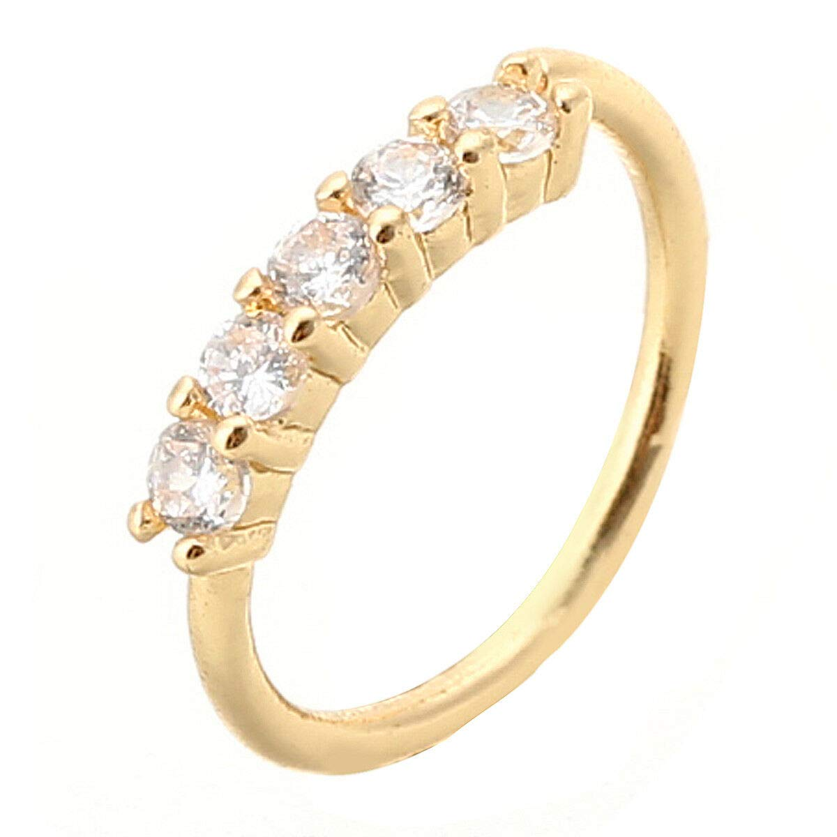 Nose Ring Ear Hoop Tragus Helix Cartilage Earrings Crystal Stainless Steel Gift