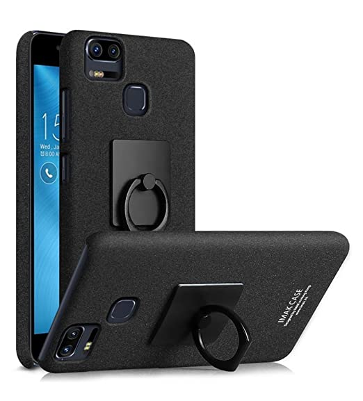 official photos d9ae7 3f263 ZenFone 3 Zoom Case, ZE553KL Case, MicroP Super Frosted Shield Hard Cover  Case With Stand and Screen Protector Compatible for Asus ZenFone 3 Zoom /  ...