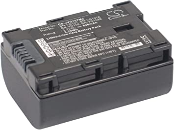Bateria para JVC gz-hm655 gz-hm860 gz-hm870 gz-hm970 gz-mg980 gz-ms118 gz-ms210