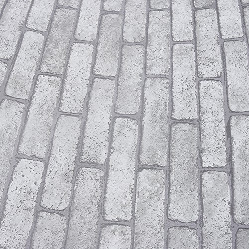 Brick Texture Grey Peel And Stick Wallpaper Protection