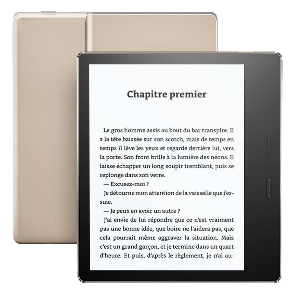 3c53e42f89680 Kindle Oasis, Résistant à l'eau, 32 Go Wi-Fi, Génération précédente (9ème):  Amazon.fr