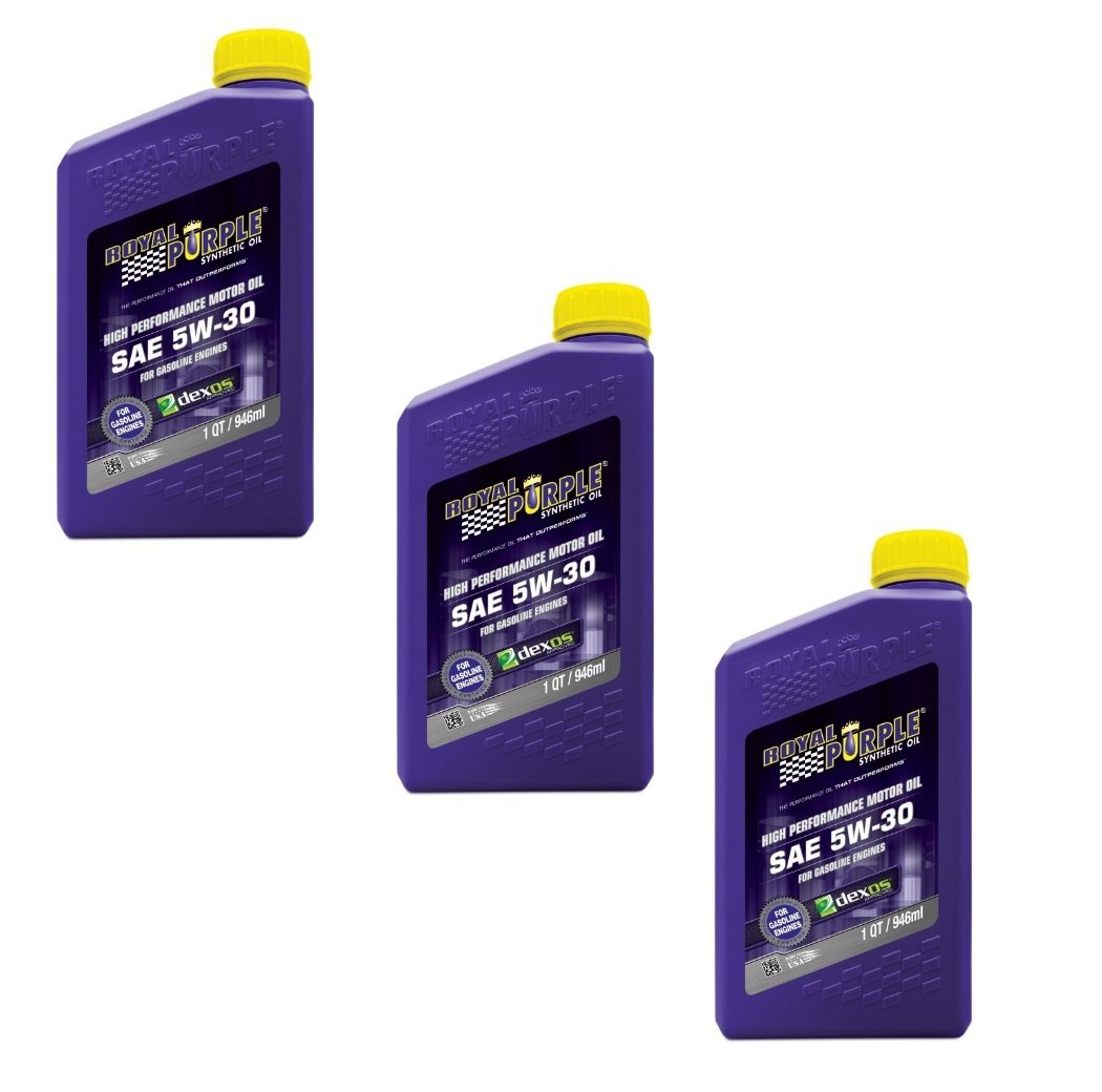 Types Of Oil For Cars >> Amazon Com Royal Purple Synthetic Motor Oil Case 5w30 3