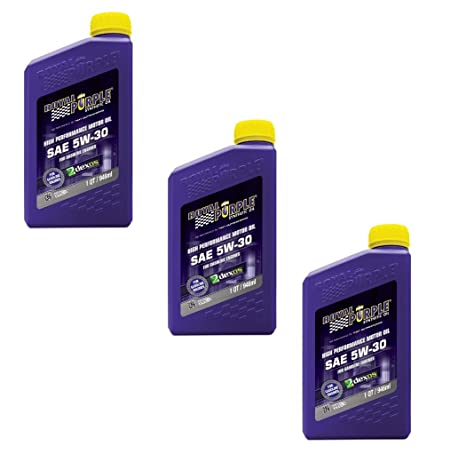 Types Of Oil For Cars >> Amazon Com Royal Purple Synthetic Motor Oil Case 5w30 3 Quarts