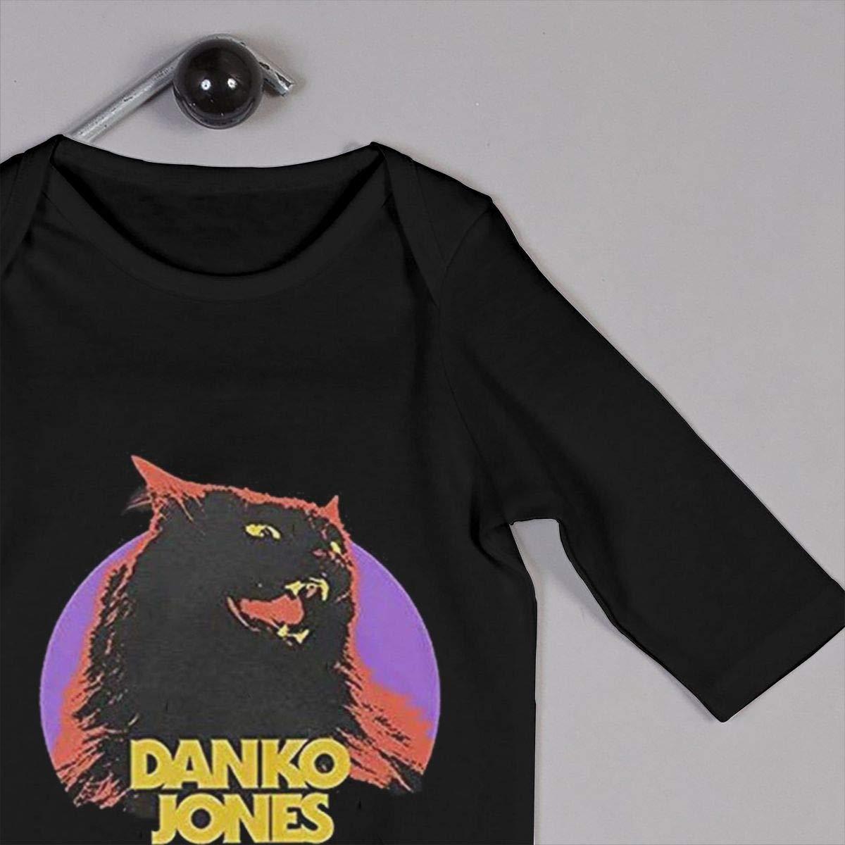 Fional Infant Long Sleeve Romper Danko-Jones-Wild-Cat Newborn Babys 0-24M Organic Cotton Jumpsuit Outfit