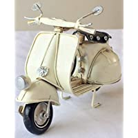 Lovely Retro Vintage Tin Metal para patinete Vespa