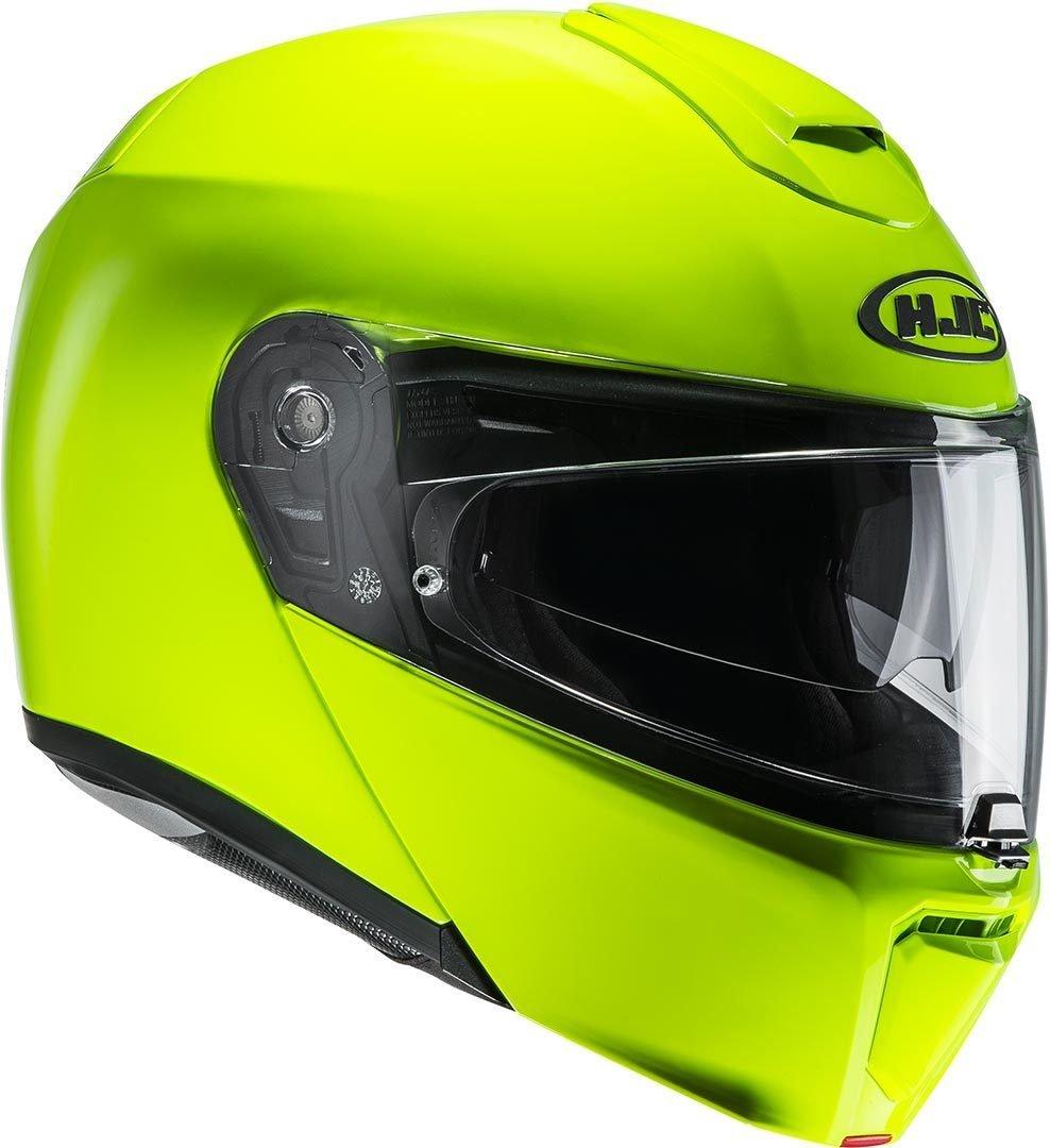 HJC Casque Moto RPHA 90 Vert fluo Taille M