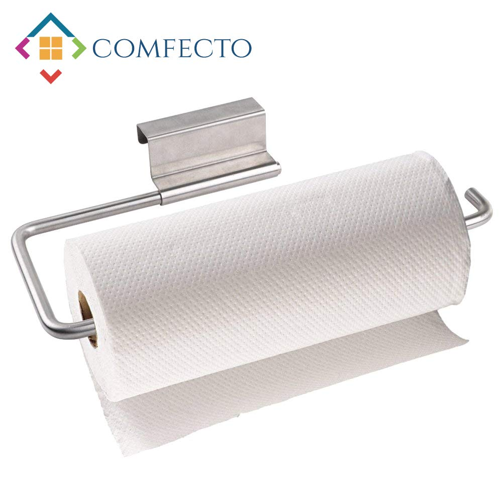 Amazoncom Over The Cabinet Paper Towel Holder Dispenser