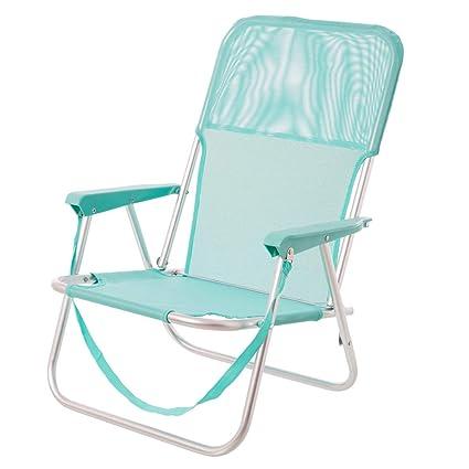 Silla Plegable para Playa Pop de Aluminio Verde Garden ...