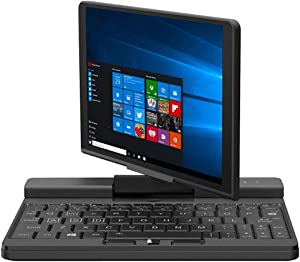One Netbook One Mix A1 Engineer PC Micro PC- 7 Inches Touch Screen Network Laptop Notebook UMPC Tablet PC Windows 10 System Pocket Micro PC Computer CPU Intel Core M3-8100Y 8GB RAM (512GB Storage)