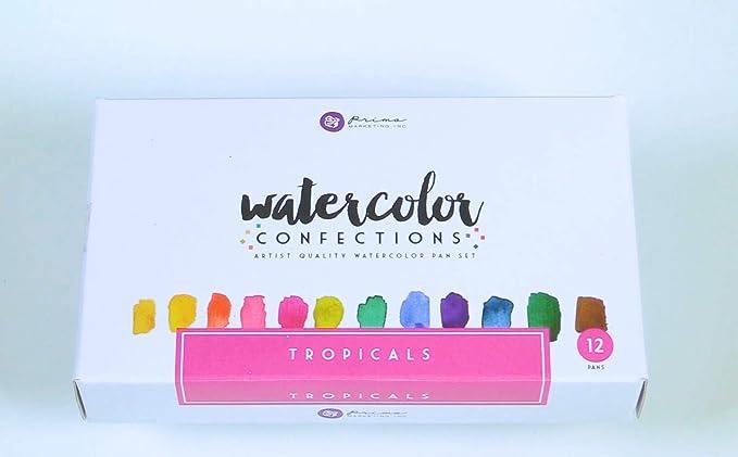 Amazon Com Prima Marketing Tropical Watercolor Confections