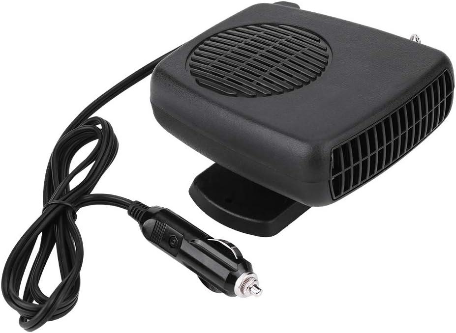 MACHSWON 2 in 1 Fast Heating /& Cooling Fan Defrost for Automobile Windscreen Defog /& Keeping Warm Windscreen Demister Defogger 12V 300W Portable Car Heater