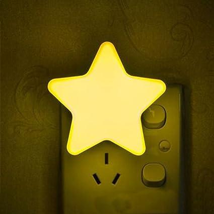 Naisidier led de Control Remoto, lámparas de Ahorro de energía de Dormitorio enchufables, lámpara