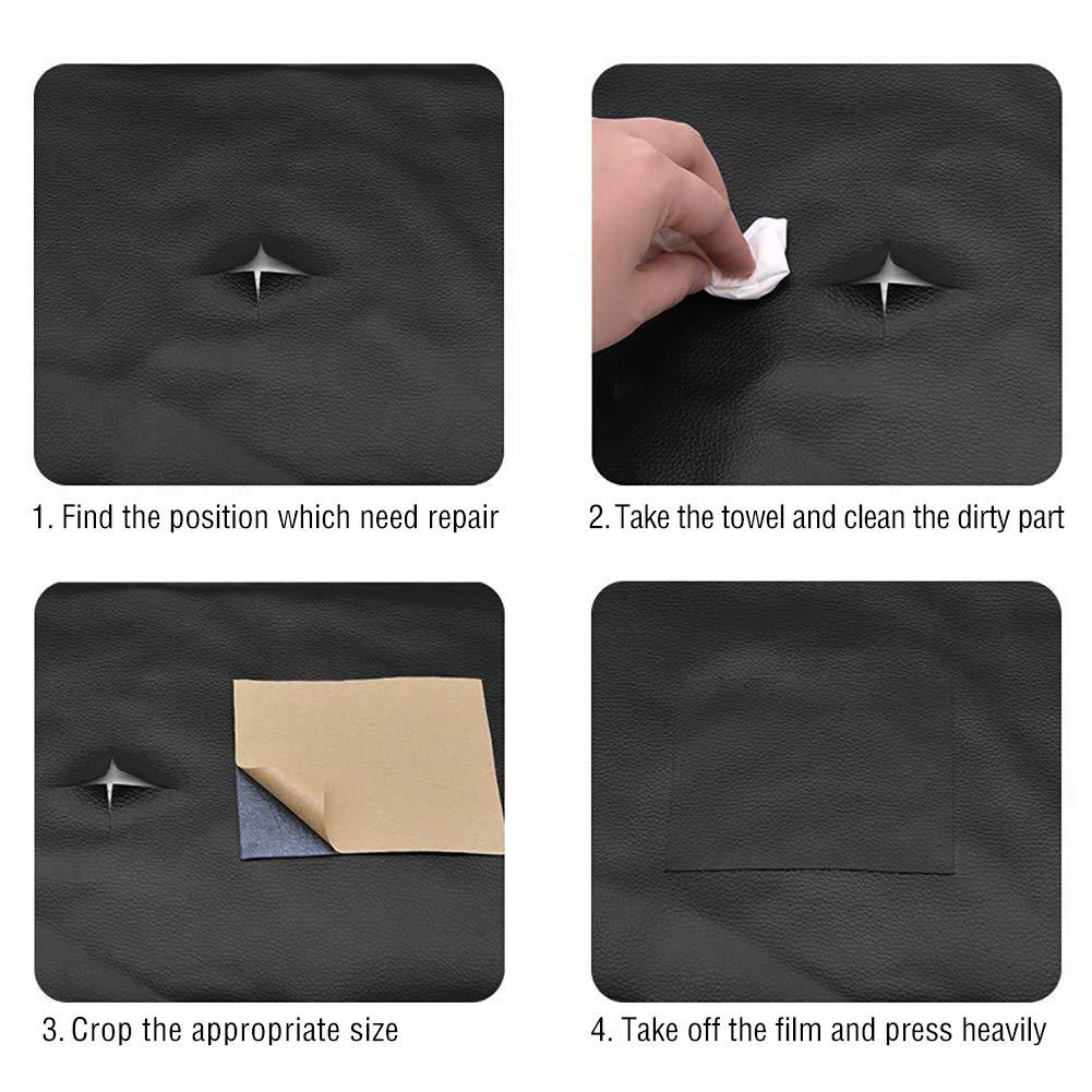 Amazon.com: URlighting - Parche de reparación de piel – 10 ...