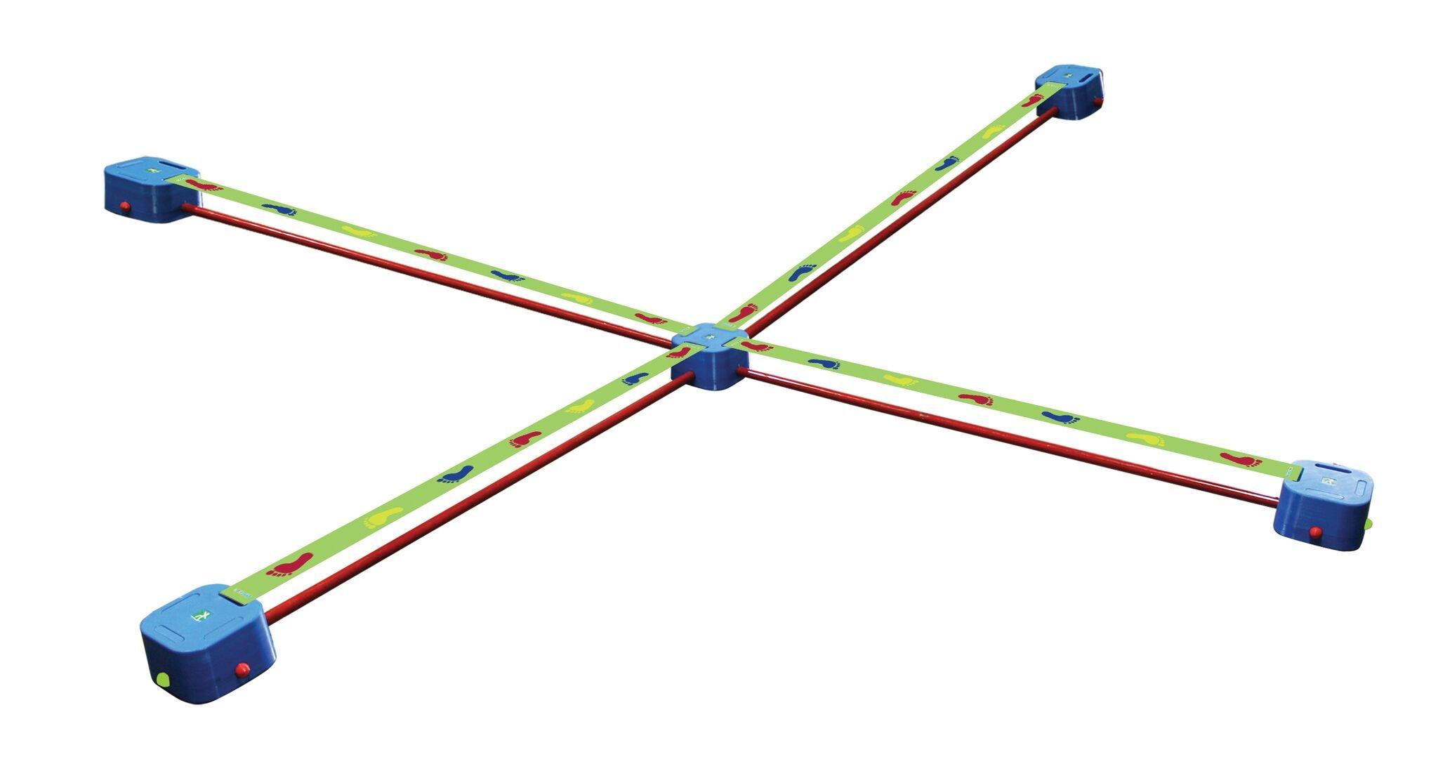 Playzone-fit Balance Blox Slackline Quad Toy by Playzone-fit