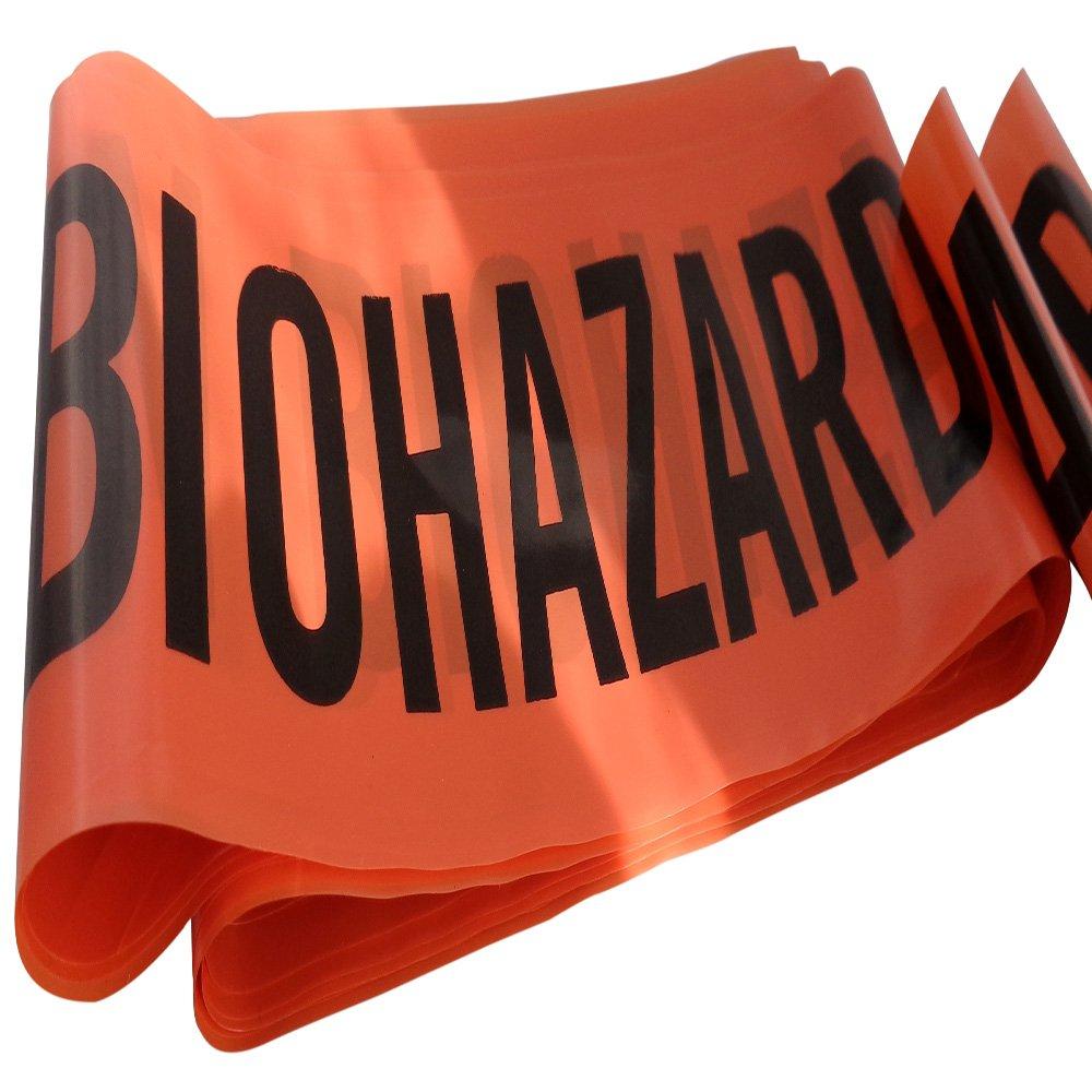 10m Length Caution Biohazard Novelty Barrier Tape
