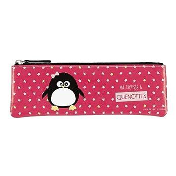 Derrière La Porte – Neceser para cepillo de dientes, diseño de pingüino de DLP
