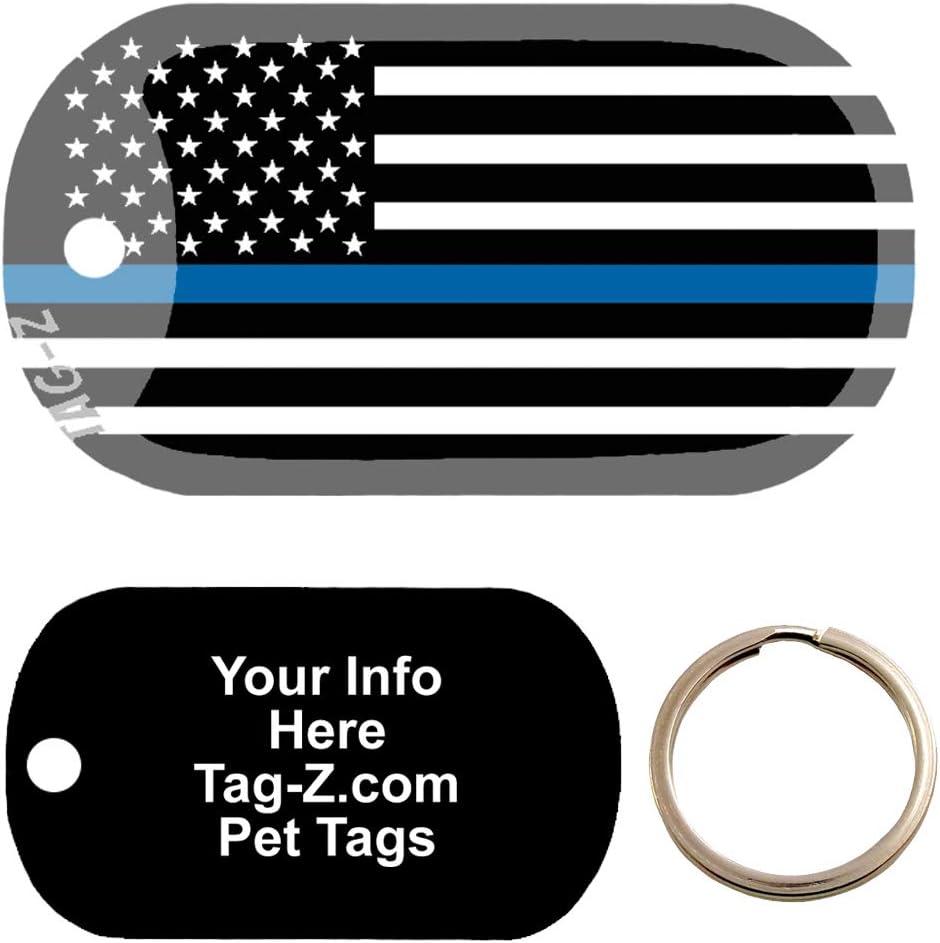 Custom Engraved Pet Tag Tag-Z Wag-Z medical alert cancer patient Dog Tag