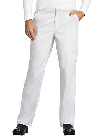cfade34ae15 Amazon.com: KOI Lite 606 Men's Discovery Scrub Pant White XSSh: Clothing