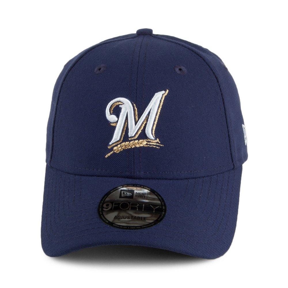Gorra béisbol 9FORTY League Milwaukee Brewers New Era - Azul Marino - Adjustable: Amazon.es: Ropa y accesorios