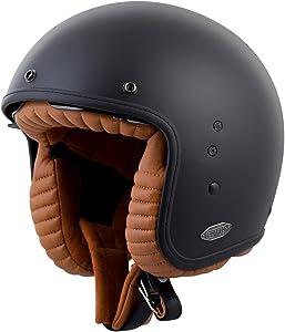 ScorpionExo Belfast 3/4 Open Face Helmet (Matte Black, X-Large)
