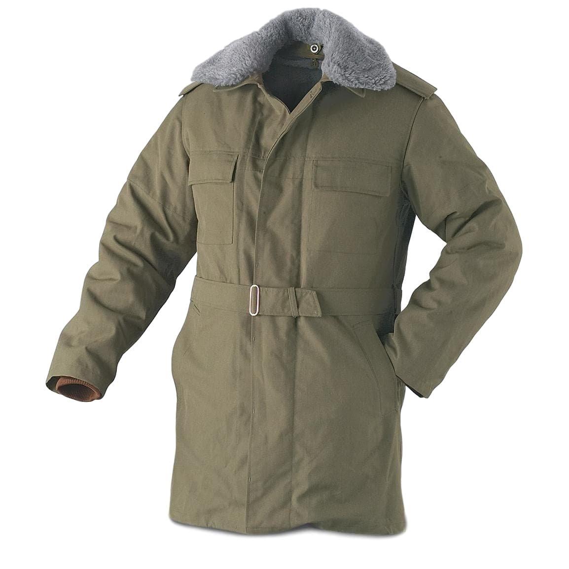 9f01758ff07c1 CZECH ARMY WINTER PARKA: Amazon.co.uk: Clothing