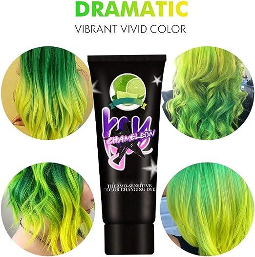 Hankyky -Tinte para el cabello que cambia de color ...