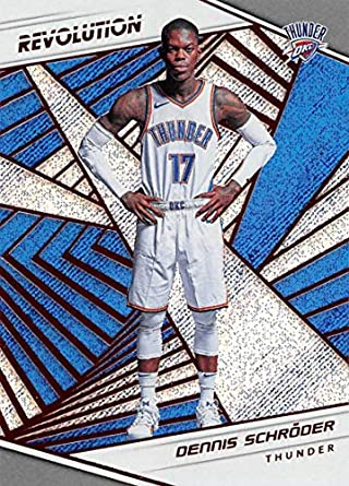 arrives a28b2 a0da4 Amazon.com: 2018-19 Panini Revolution #83 Dennis Schroder ...