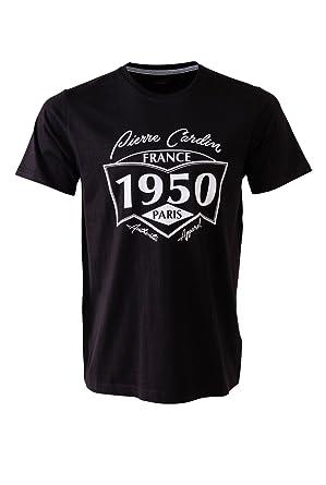 49ff27ddd0067a Pierre Cardin Mens New Season Classic Fit  quot 1950 quot  Printed T-shirt (