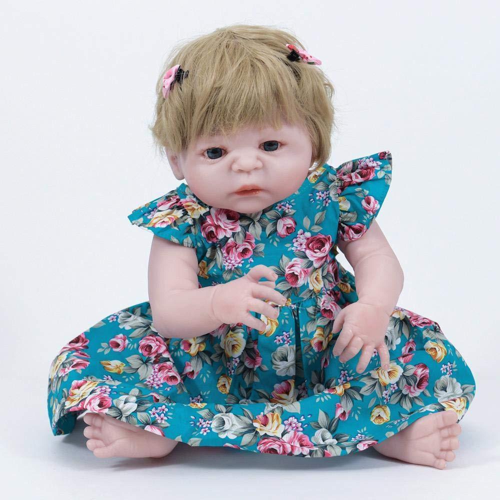 Hongge Reborn Baby Doll,Realista de de de Silicona muñeca de Reborn bebé Realista muñeca Juguetes Regalo 55cm 7a58be