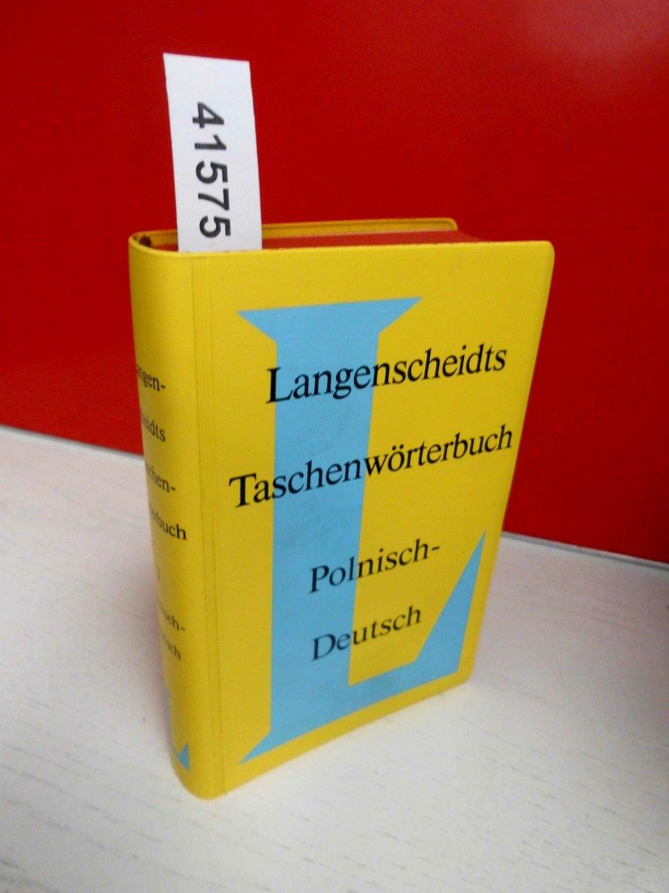Polnisch - Deutsch. Taschenwörterbuch. Langenscheidt