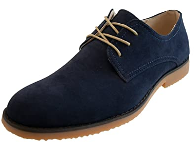 Northwest Territory Mens Thomas Lace Up Shoes Faux Suede Dress Smart