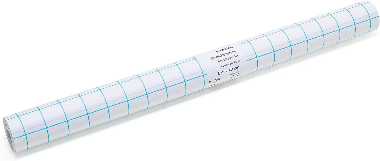 HERMA Buchschutzfolie selbstklebend 400 mm x 3 m transparent