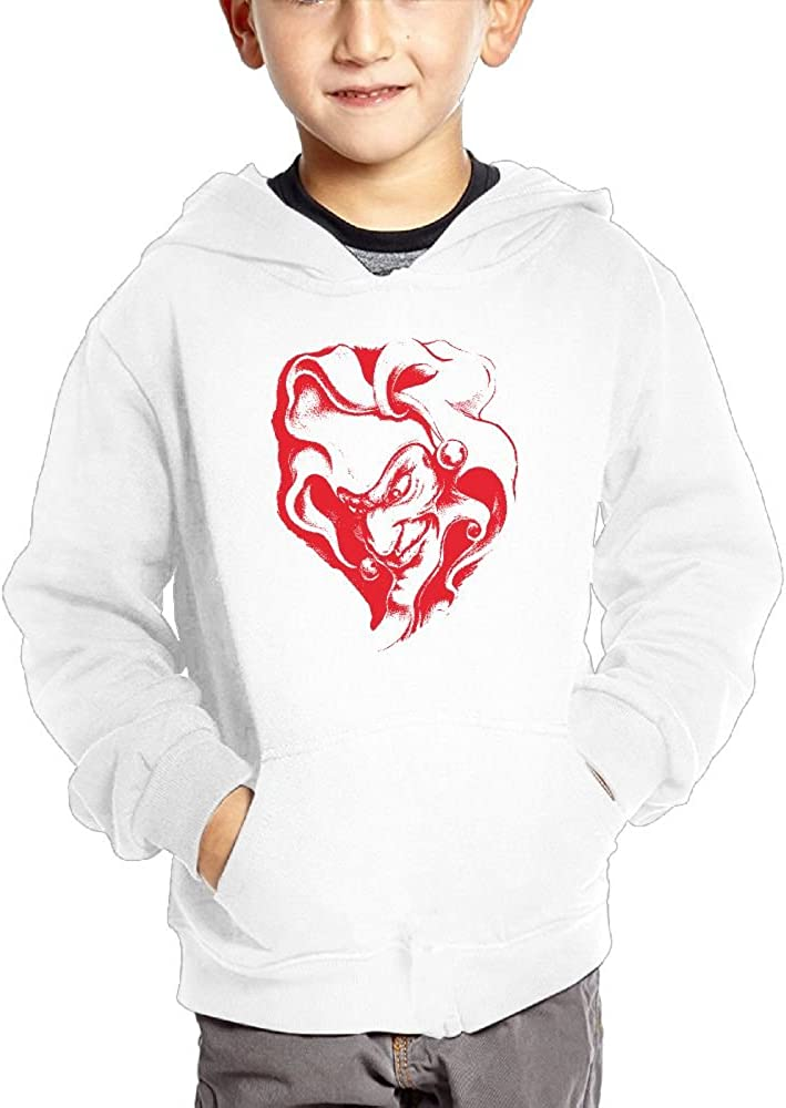 JasonMade Conspiracy Clowns Painting Big Nose Kids Fashion Popular Hooded Hoodies With Pocket