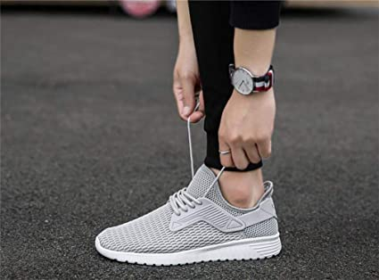 74bc49181ada2 Amazon.com: LUCKY-U Men Shoes, Casual Sports Air Trainers Fitness ...