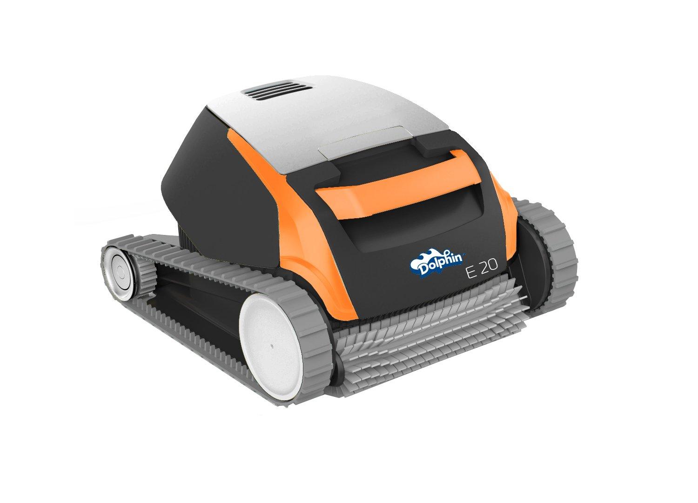 Maytronics 500968 – Dolphin Robot Limpiafondos Eléctrico,Negro, gris y naranja