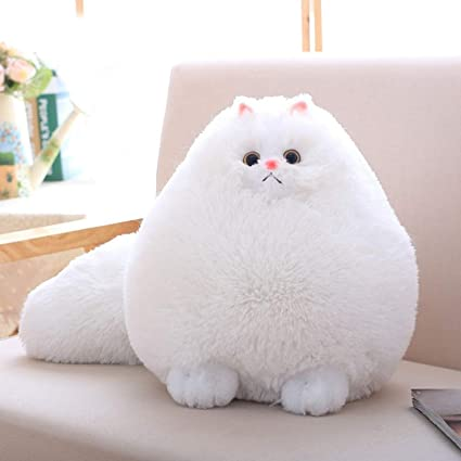 JEWH Fun Plush Fluffy Cats - Persian Cat Toys - Pembroke Pillow - Soft Stuffed Animal