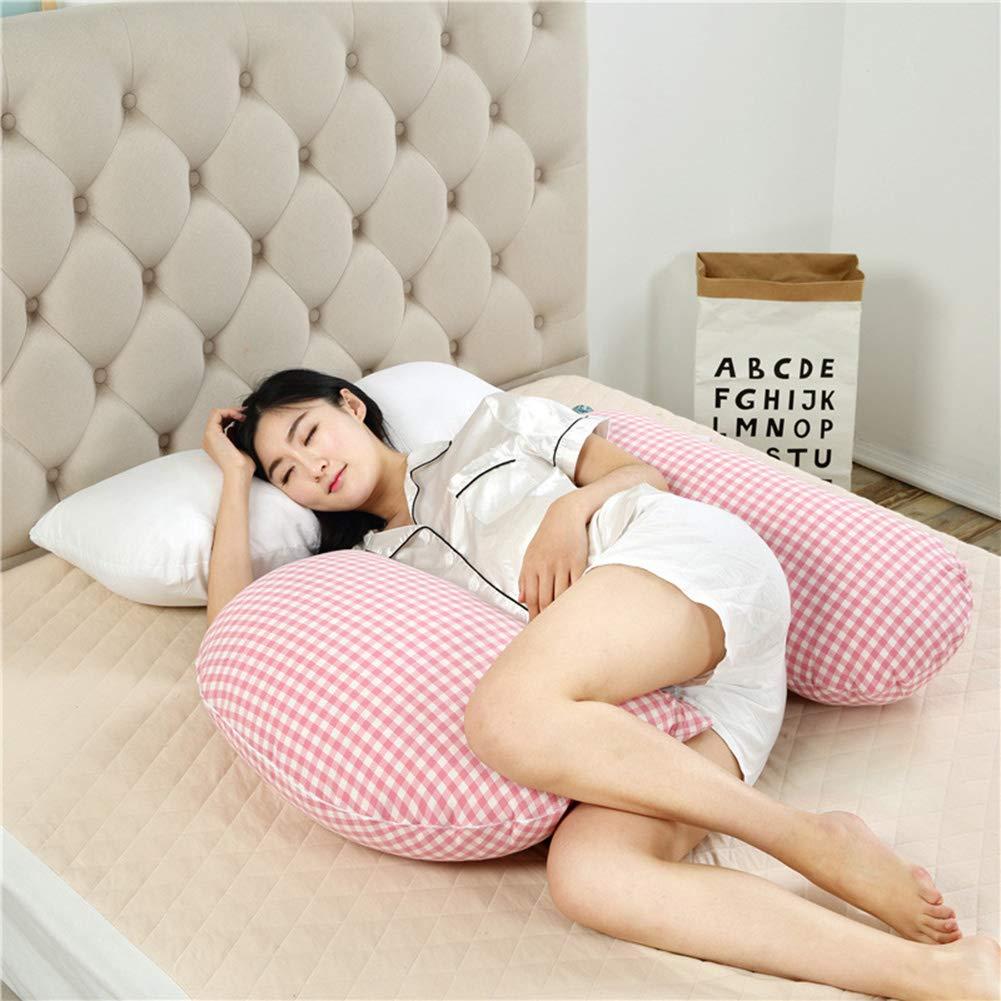 格安即決 Hタイプ妊娠中の女性の枕綿快適な柔らかい妊娠中の女性の枕取り外し可能と洗える側睡眠枕最高のボディサポート看護枕,Pink B07QXSCX9H Red Red B07QXSCX9H Red, 高橋商会:28504fc7 --- cliente.opweb0005.servidorwebfacil.com